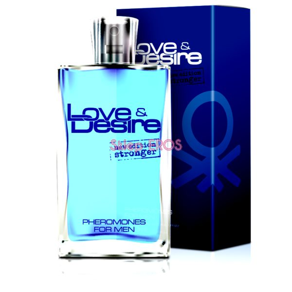 PERFUMY Z FEROMONAMI LOVE DESIRE MĘSKIE 100ML NEW