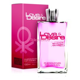 PERFUMY Z FEROMONAMI LOVE DESIRE DAMSKIE 100ML ORG