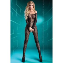 PODNIECAJĄCE BODYSTOCKING Open Crotch Abra S/L i XL/XXL