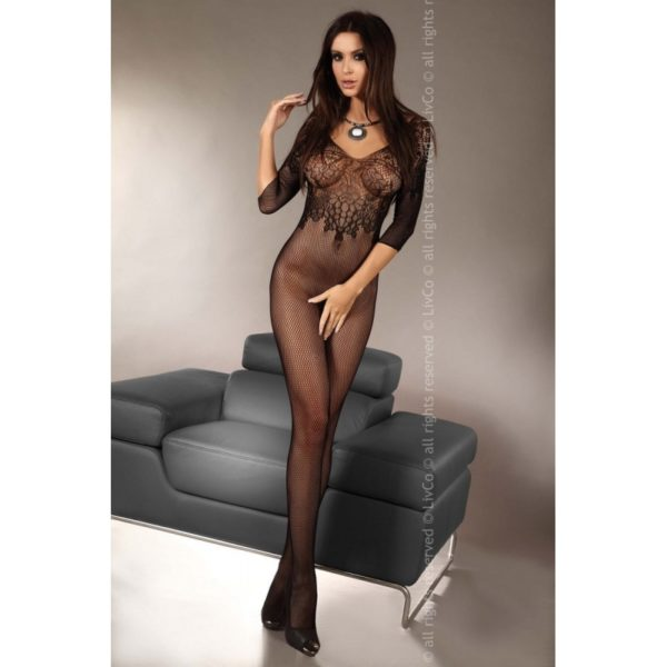 EROTYCZNE BODYSTOCKING Open Crotch - Josslyn S/L