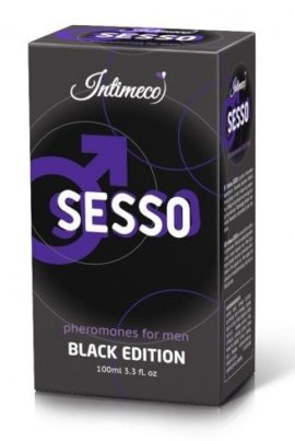 SESSO 100 ml _ Black Edition _ FEROMONY MĘSKIE